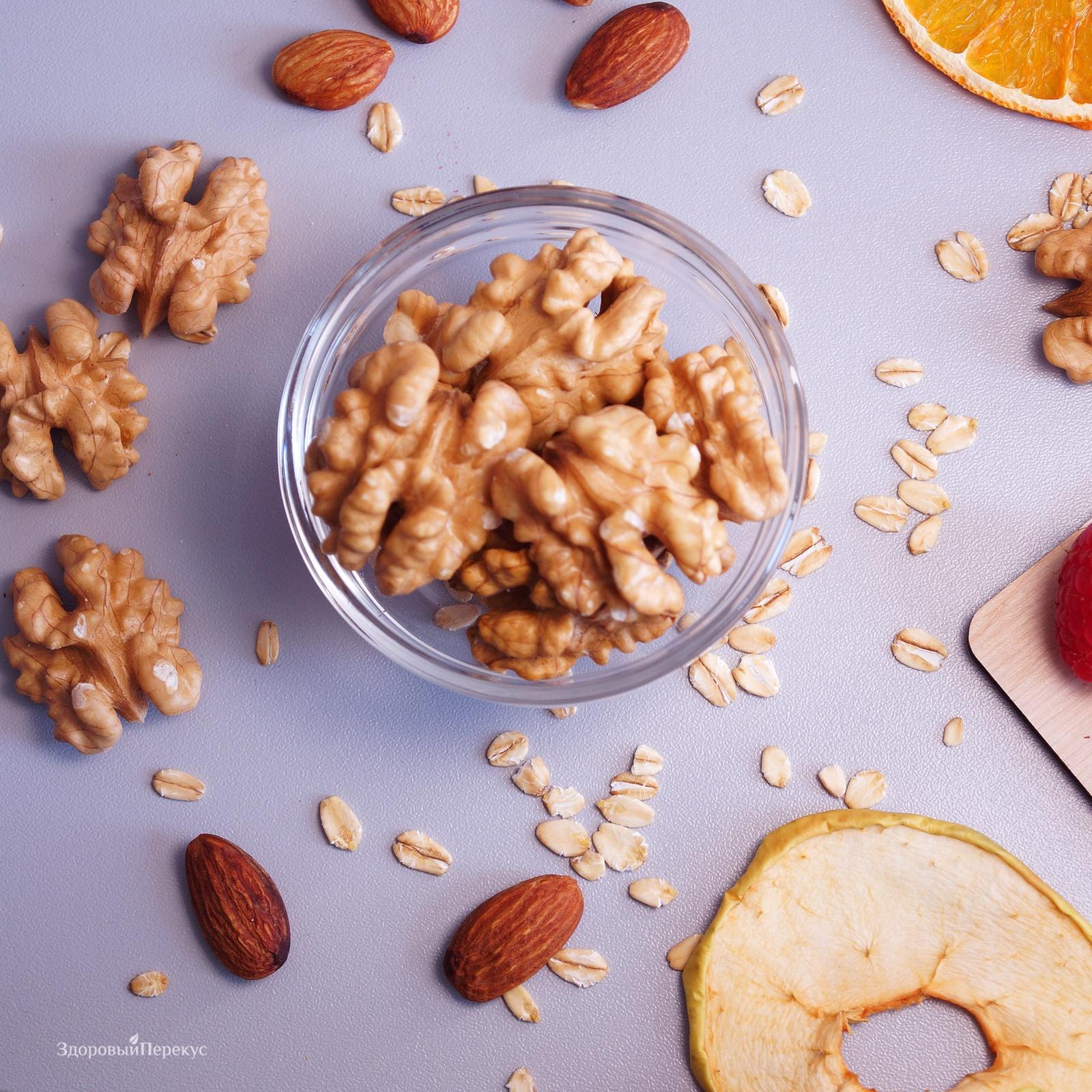 Полезные орехи на диете