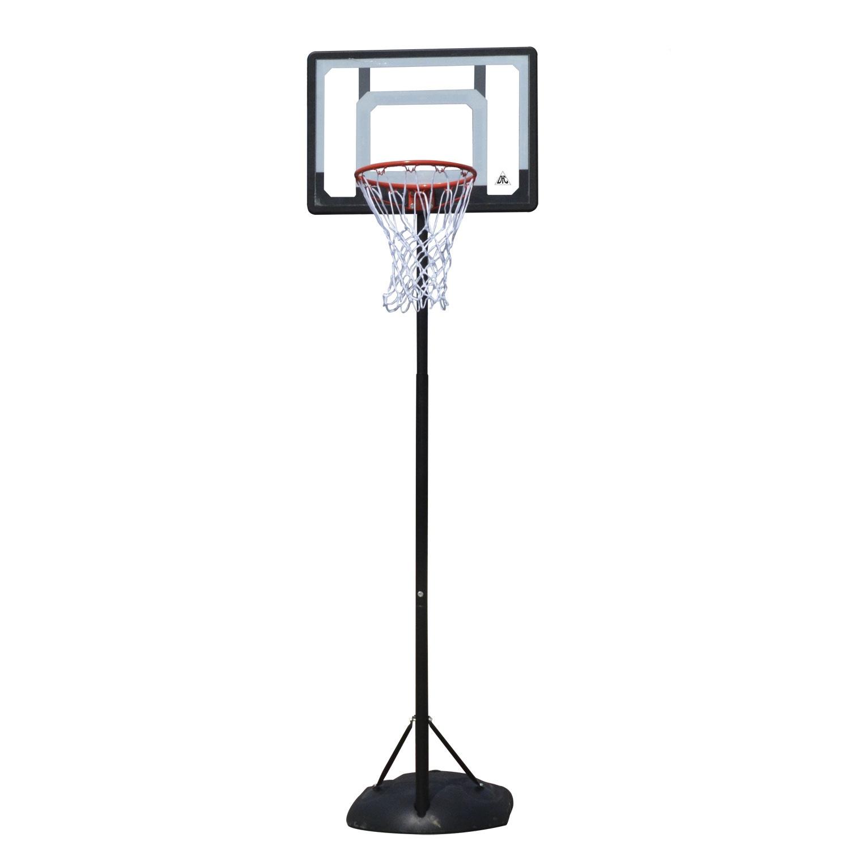 Баскетбольный щит DFC KIDS4, черный баск щит dfc board32 80x58cm полиэтилен прозрачный