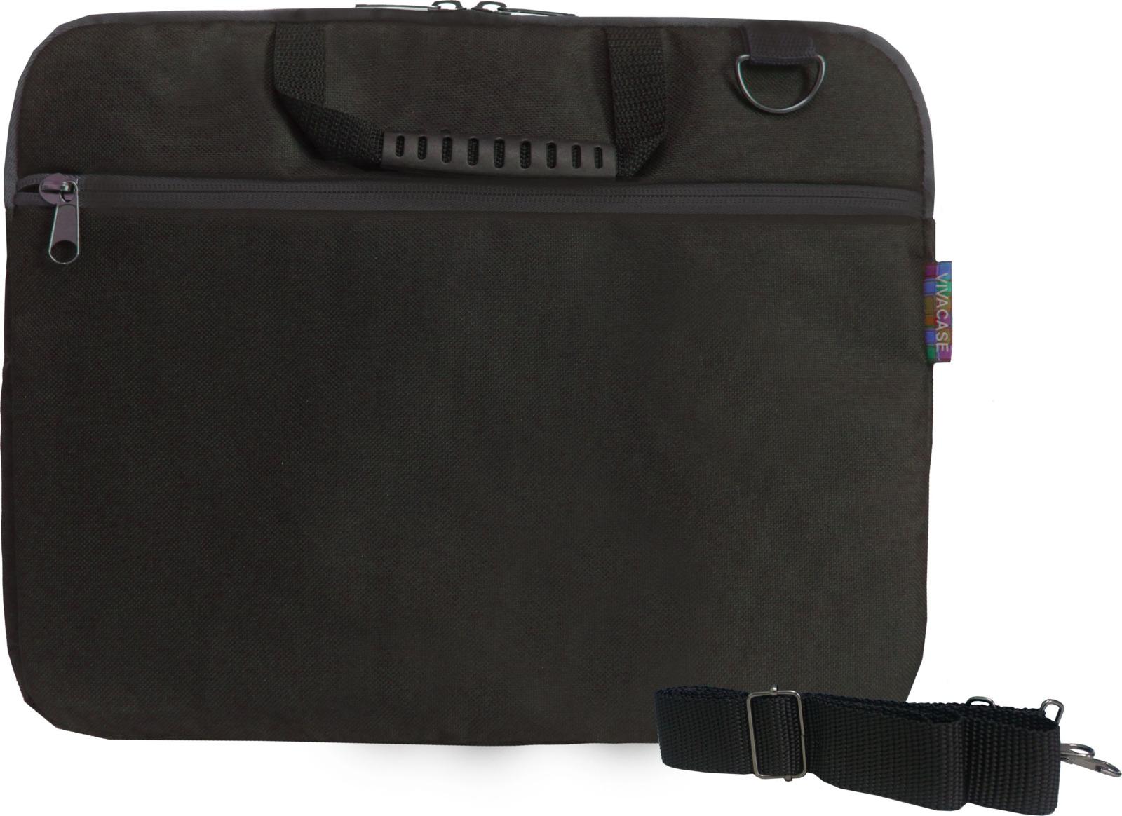 """Сумка для ноутбука Vivacase Business Slim 14"""", VCN-CBSL14-bl, черный"""
