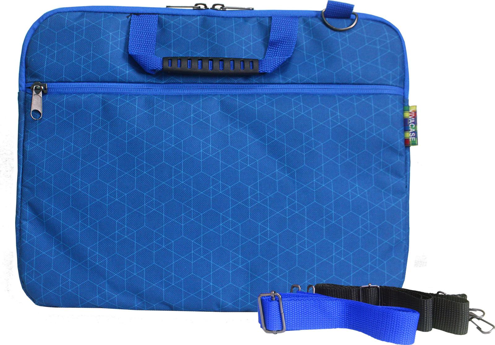 """Сумка для ноутбука Vivacase Business Slim 14"""", VCN-CBSLGMR14-blue, синий"""