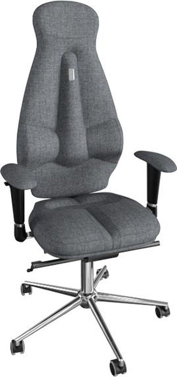 Компьютерное кресло Kulik System Nano, цвет: серый. 1607 азур и азмар