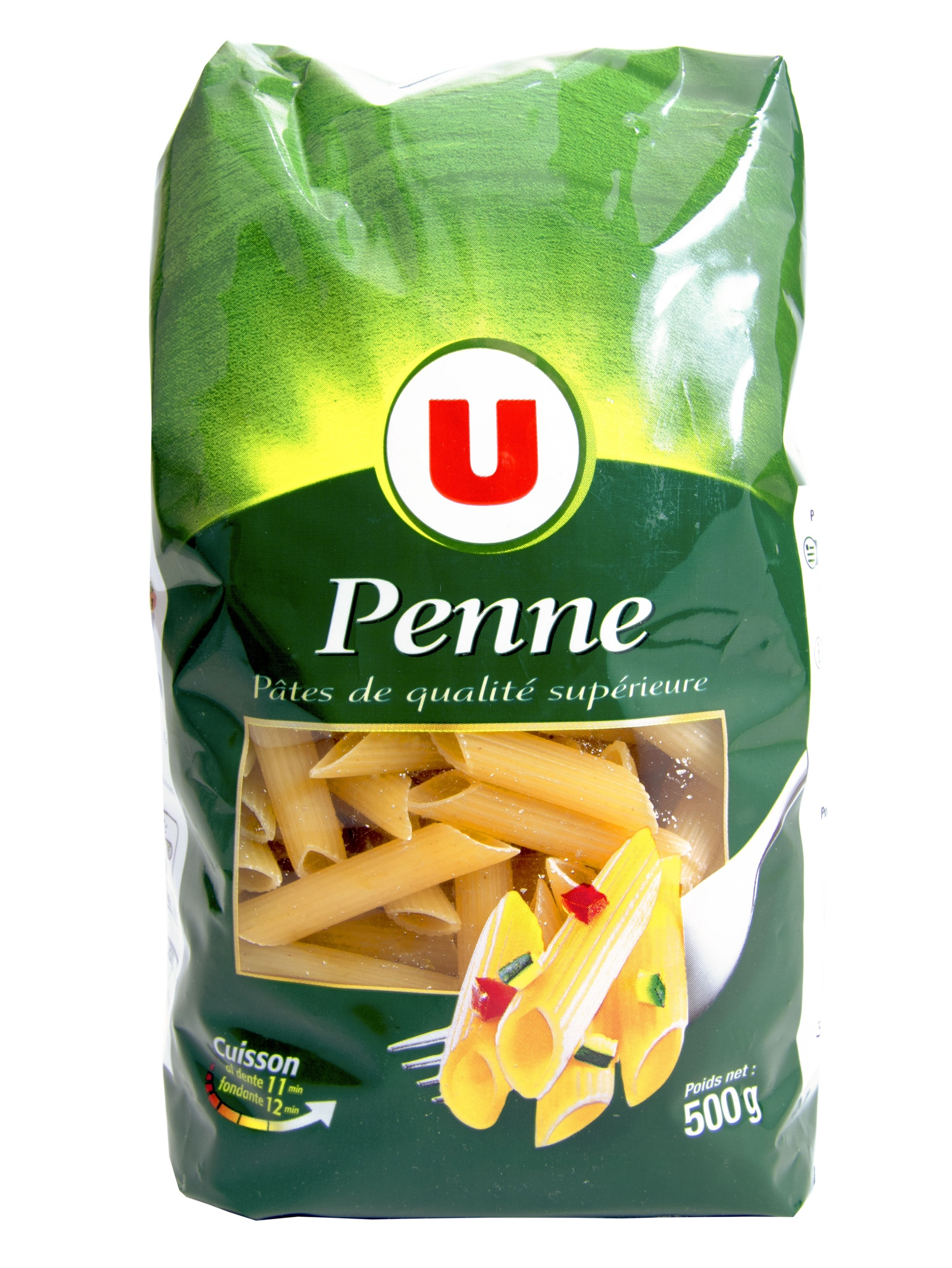 Макароны U Penne пенне из пшеничной муки из твердых сортов, 500 г., Франция rummo casarecce 88 паста 500 г