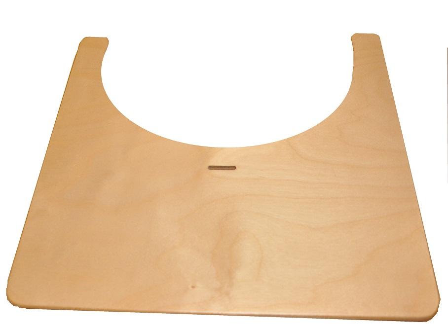 Аксессуар к стульчикам для кормления Kid-Fix Столик для стульчика, с ремешком, предназначен для детей от 6 месяцев до 2 лет