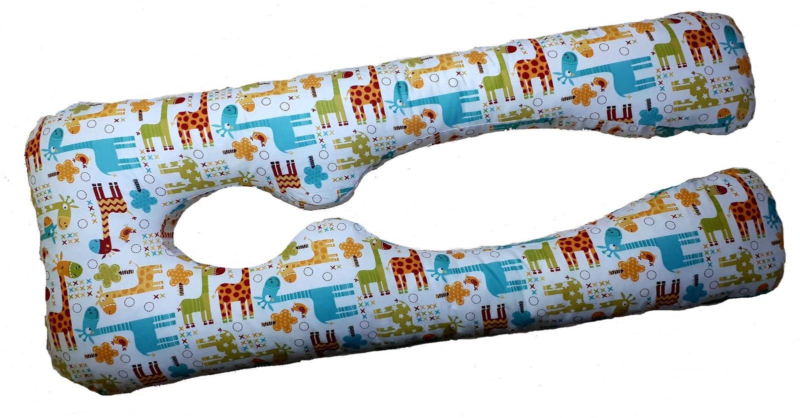 Подушка для кормящих и беременных Texxet E360 Жирафы