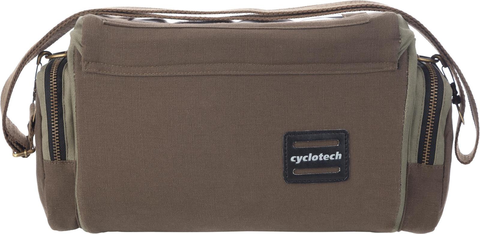 Сумка на велосипед Cyclotech CYC-28 Bicycle Bag, бежевый, коричневый