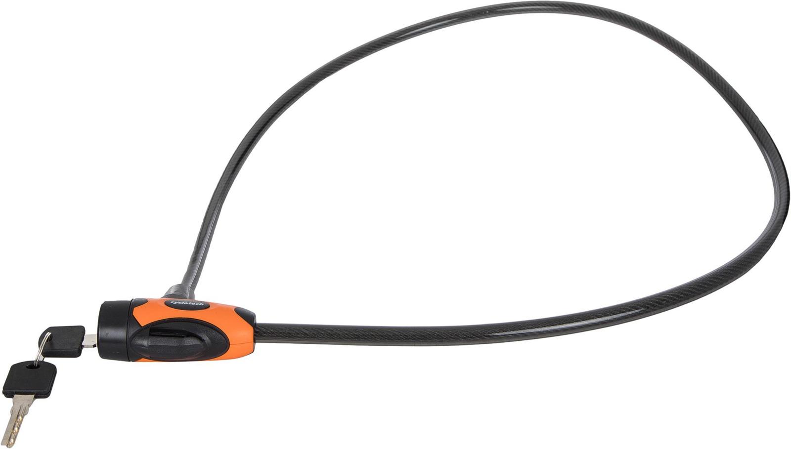 Велозамок с ключом Cyclotech Сlk-5 Lock, keys, черный