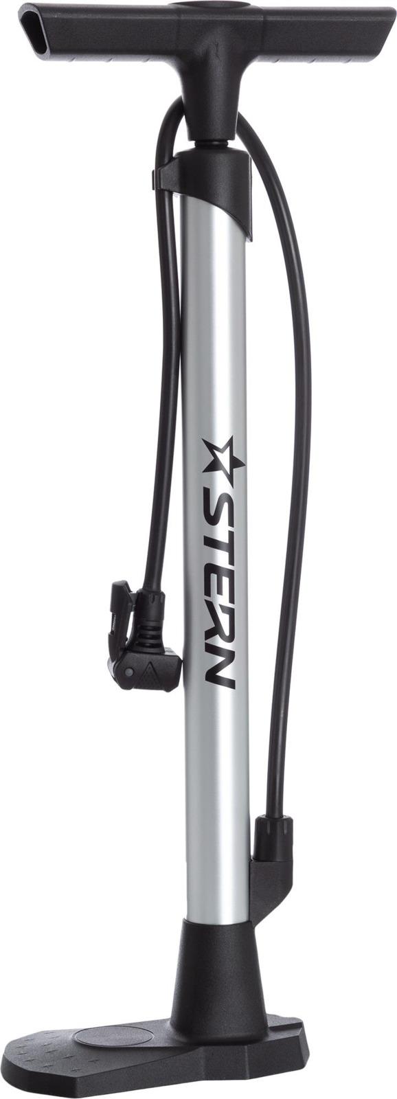 Фото - Велосипедный насос Stern CP-12N Pump, серебристый авто