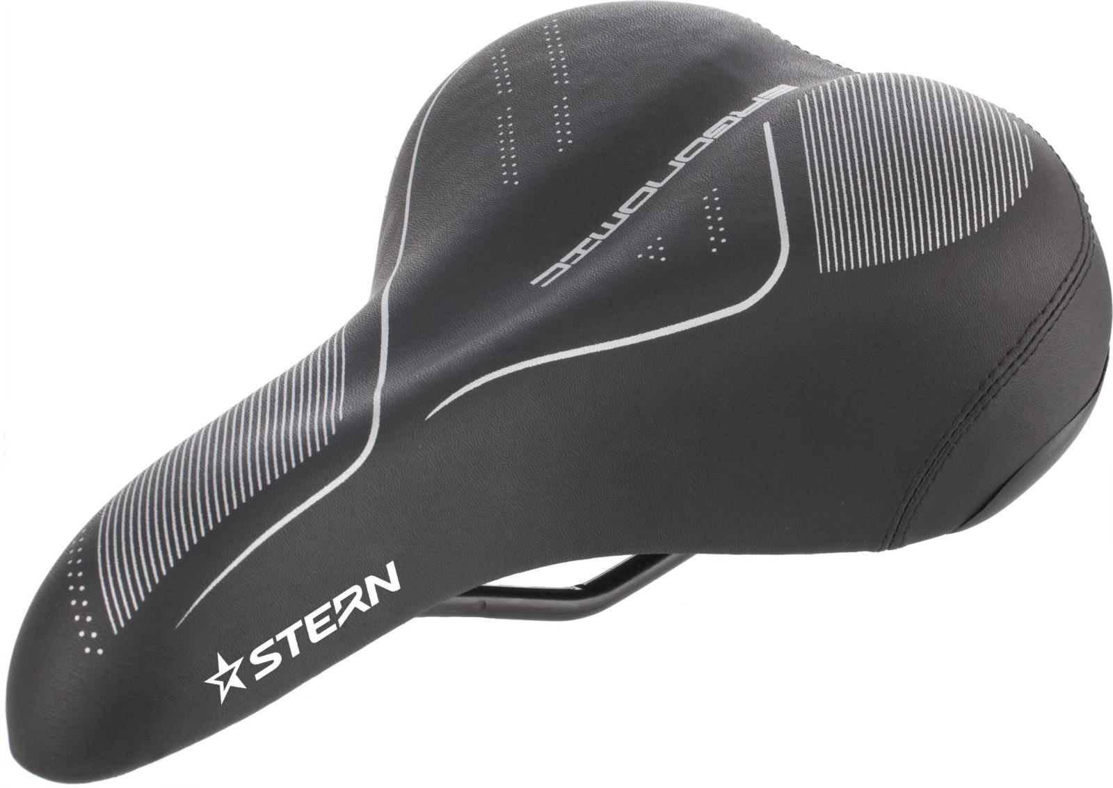 Седло для велосипеда Stern CS-2, черный, 245 х 215 мм седло для велосипеда ventura junior подростковое 228х150мм универсальное 16 24 5 250203