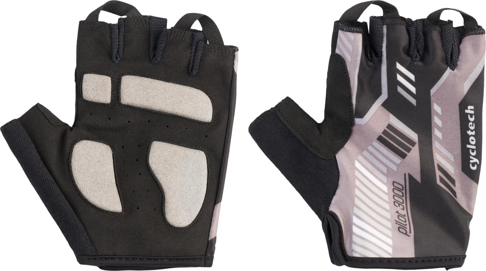 Велоперчатки Cyclotech PILOT Bike gloves, черный, серый, размер M цена