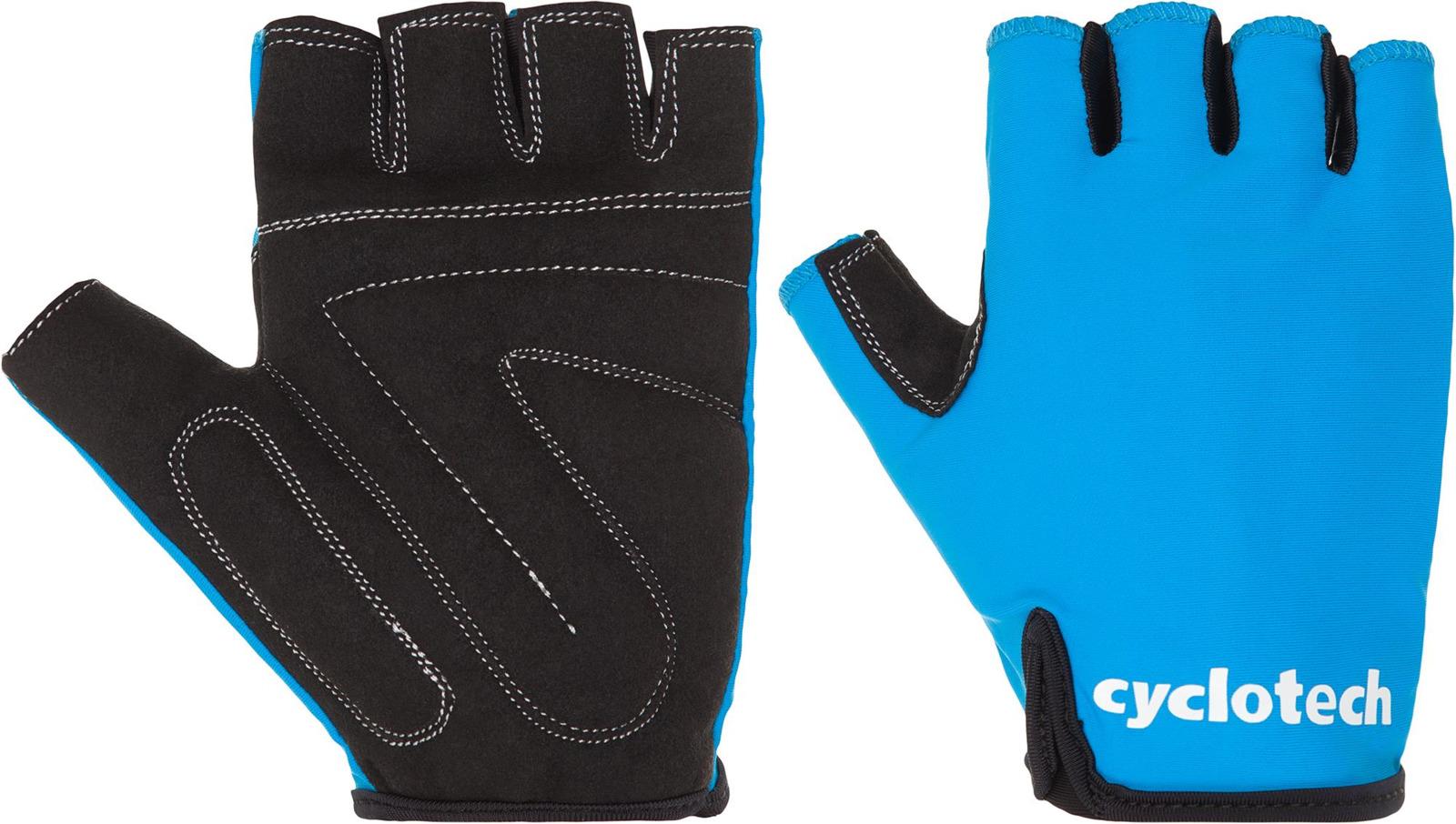 Велоперчатки Cyclotech WIND-B Bike gloves, синий, черный, размер L