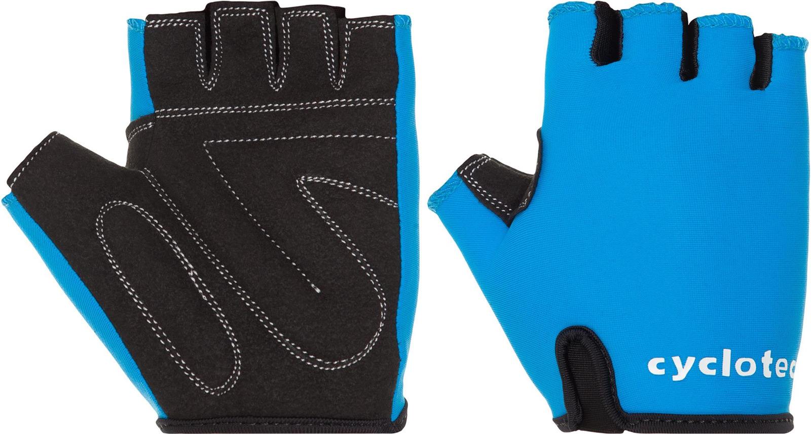 Велоперчатки Cyclotech WIND-B Bike gloves, синий, черный, размер S