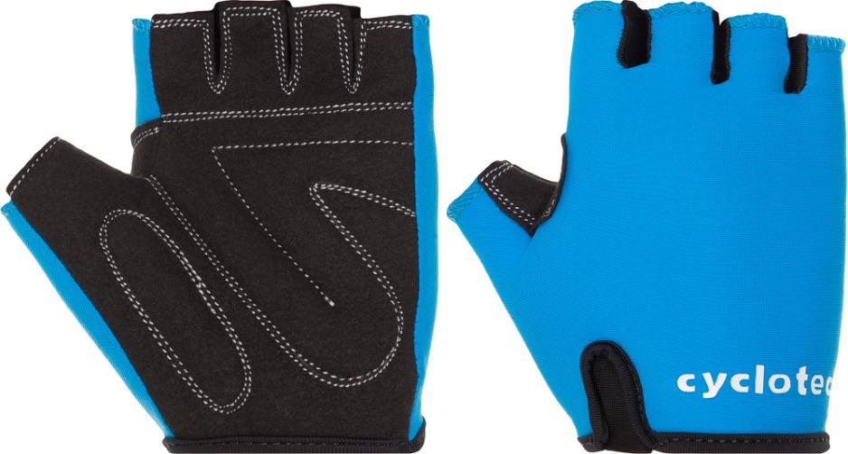 Велоперчатки детские Cyclotech WIND-KID Kid's bike gloves, черный, синий, размер XXS