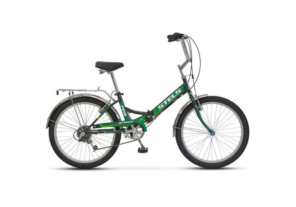 Велосипед Stels Pilot-750, зеленый
