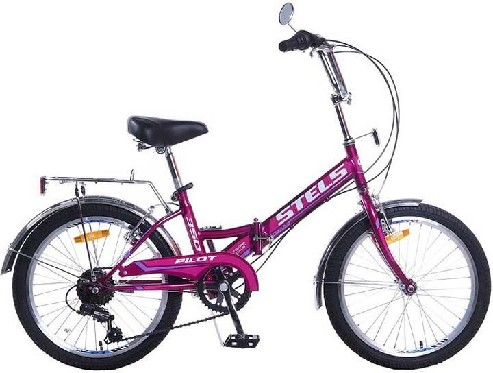 Велосипед Stels Pilot-350, фиолетовый