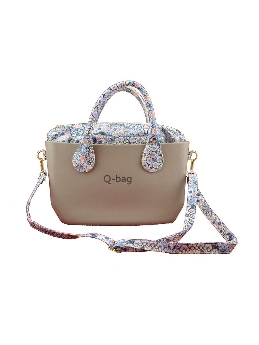 Сумка Q-bag 5105, хаки сумка tao beauty bag 52077 2015
