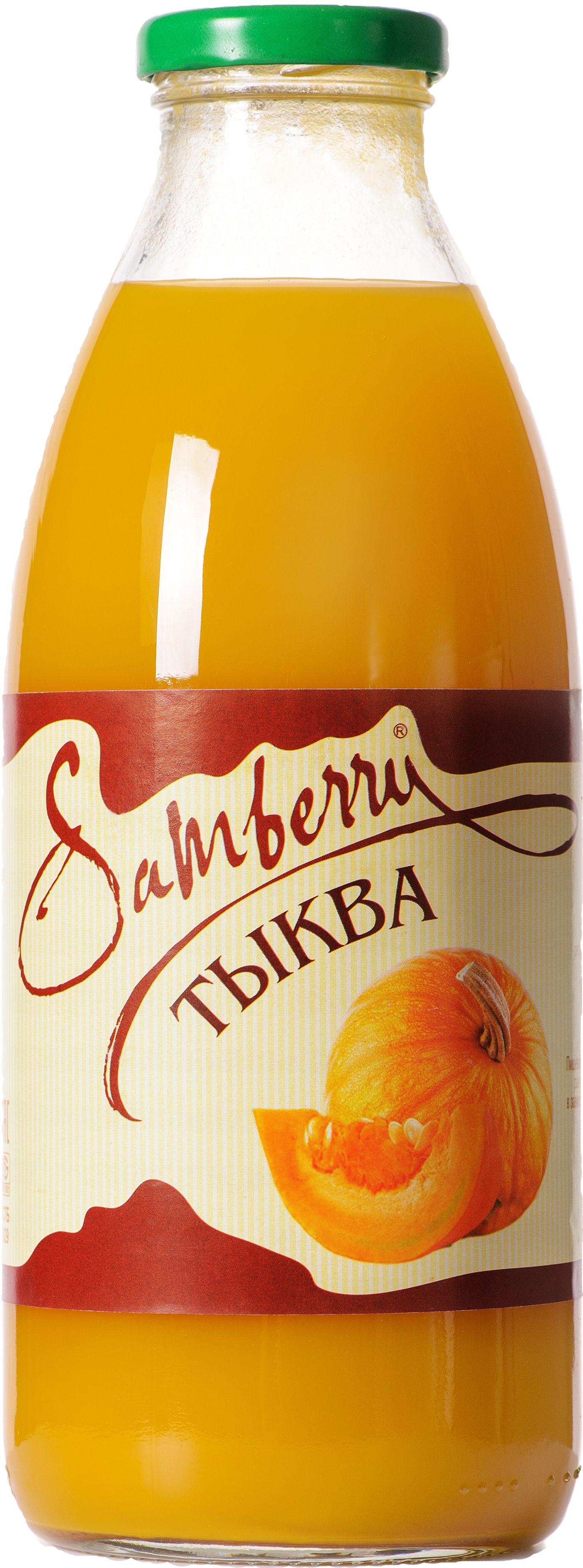 Фото - Нектар Samberry тыквенный с мякотью, 730 мл. ст.бут., Тыква нектар benature морковно яблочный 730 мл
