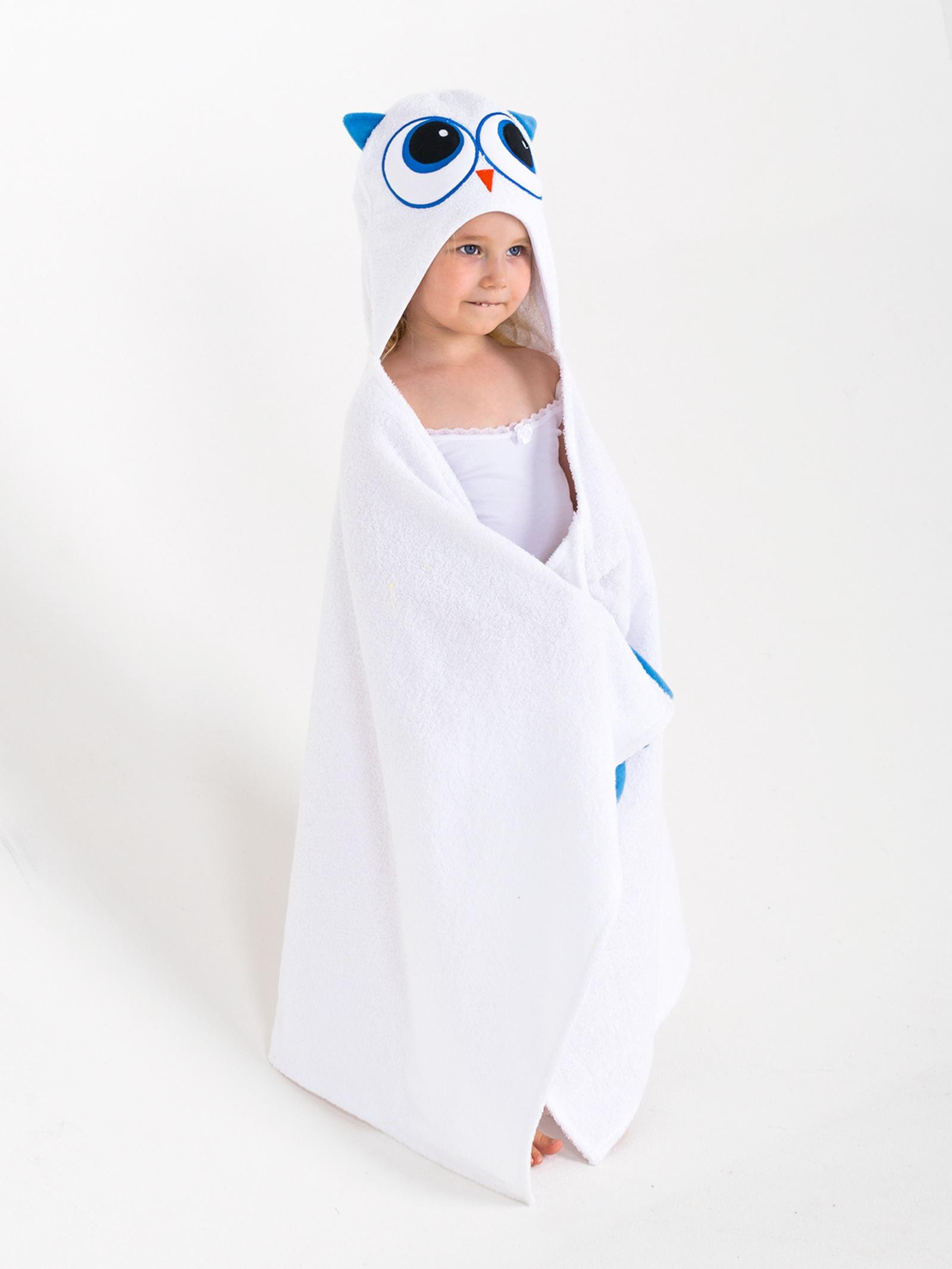 Полотенце детское BabyBunny Полотенце с капюшоном - Совушка, Хлопок imsevimse полотенце с капюшоном cова