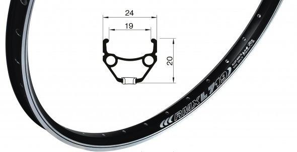 Обод велосипедный Remerx Dragon Line RBX L719, 26