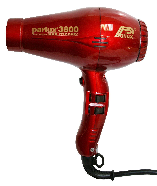 Фен для волос Parlux 3800 Eco Friendly, красный