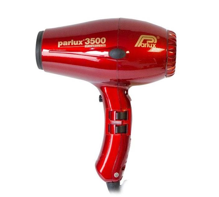 Фен для волос Parlux 3500 SuperCompact Ceramic&Ionic Edition, красный