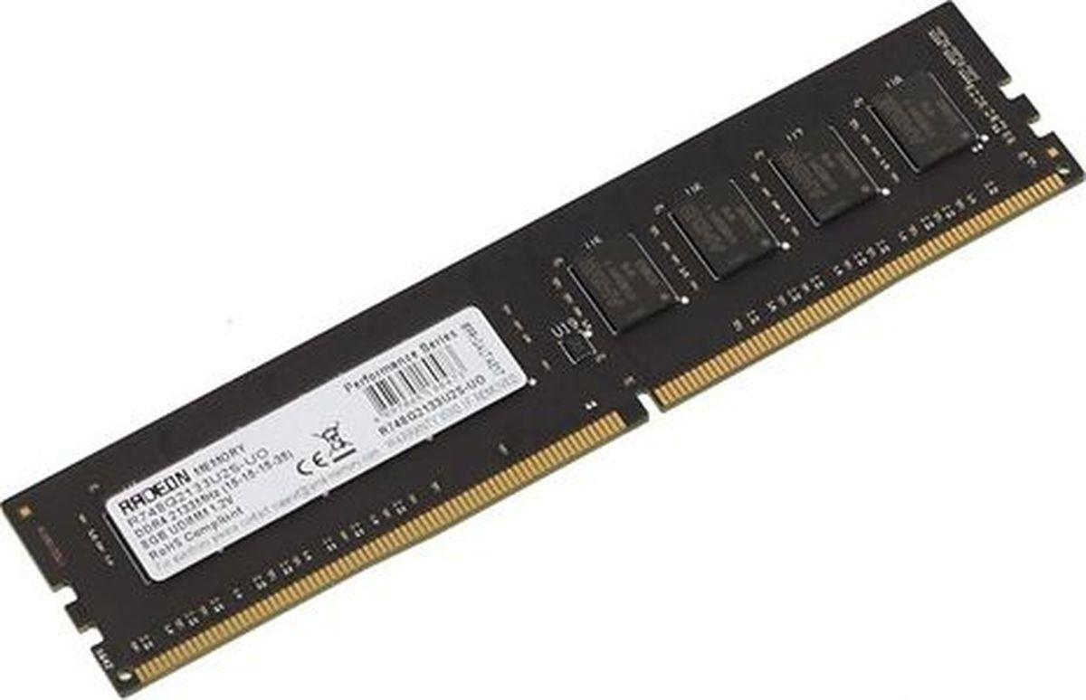 Модуль оперативной памяти AMD Radeon DDR4 8Gb 2133Mhz So-DIMM, R748G2133S2S-U