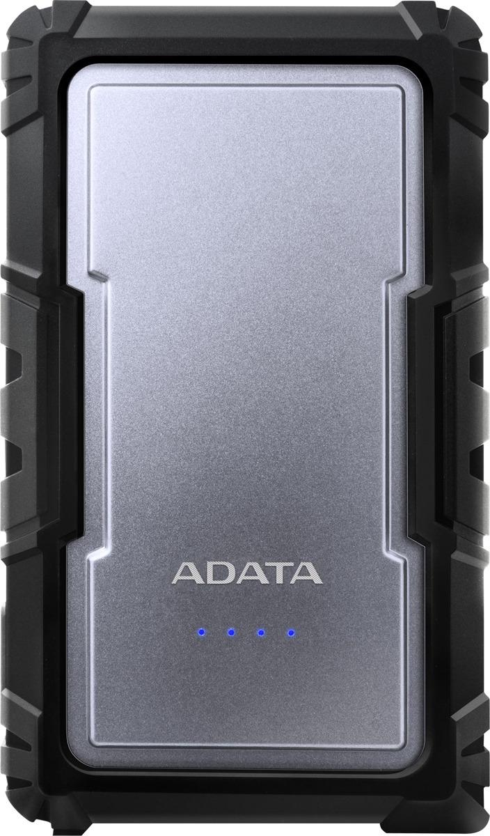 лучшая цена Внешний аккумулятор ADATA D16750 Li-Ion 16 750 mAh, серебристый