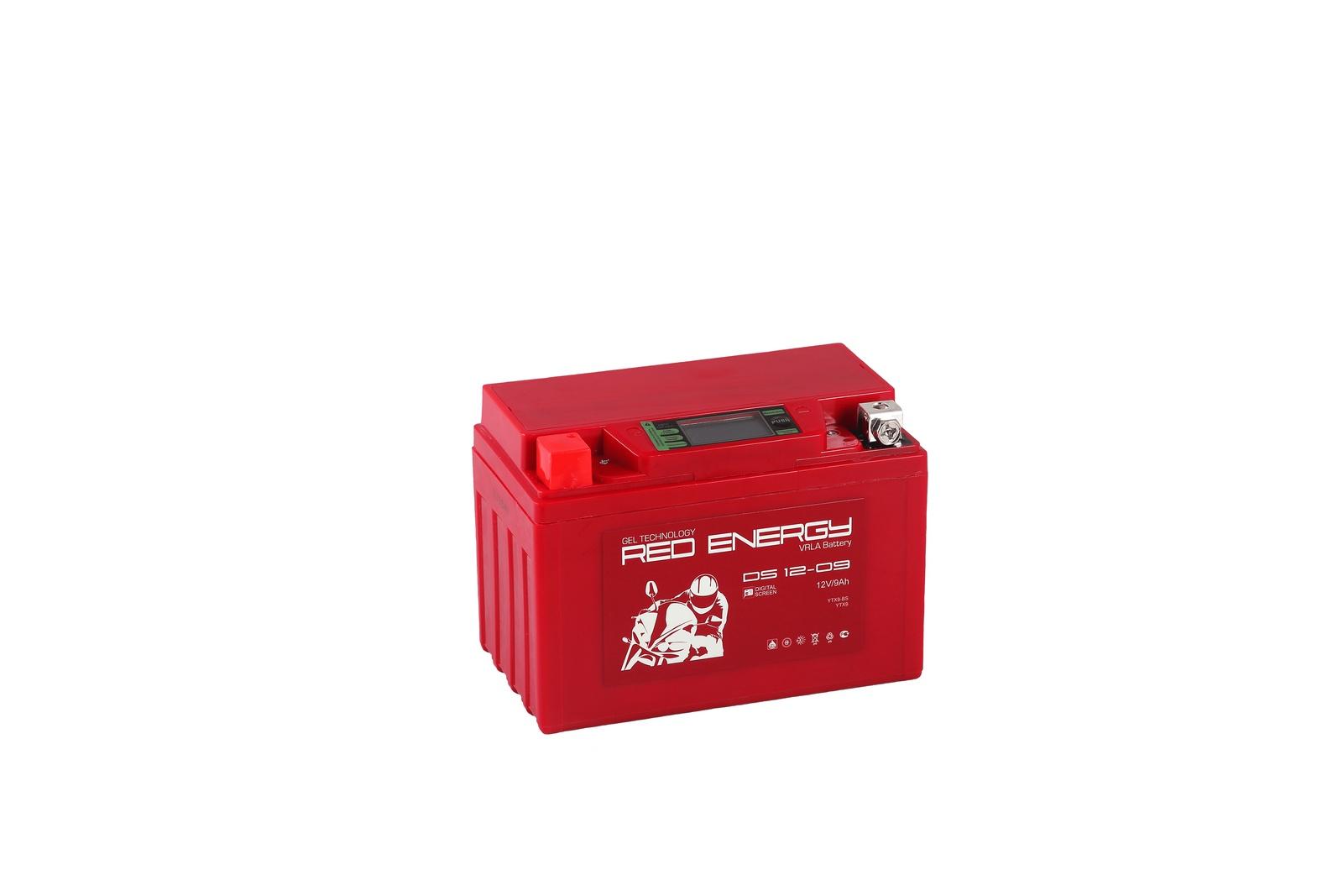 Аккумулятор для мототехники Red Energy DS 1209 все цены