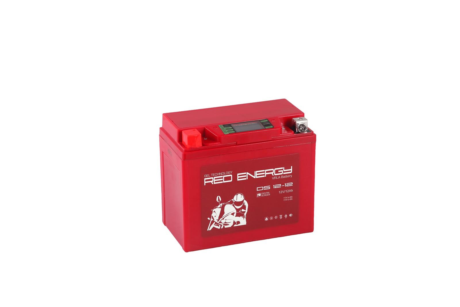 цены Аккумулятор для мототехники Red Energy DS 1212