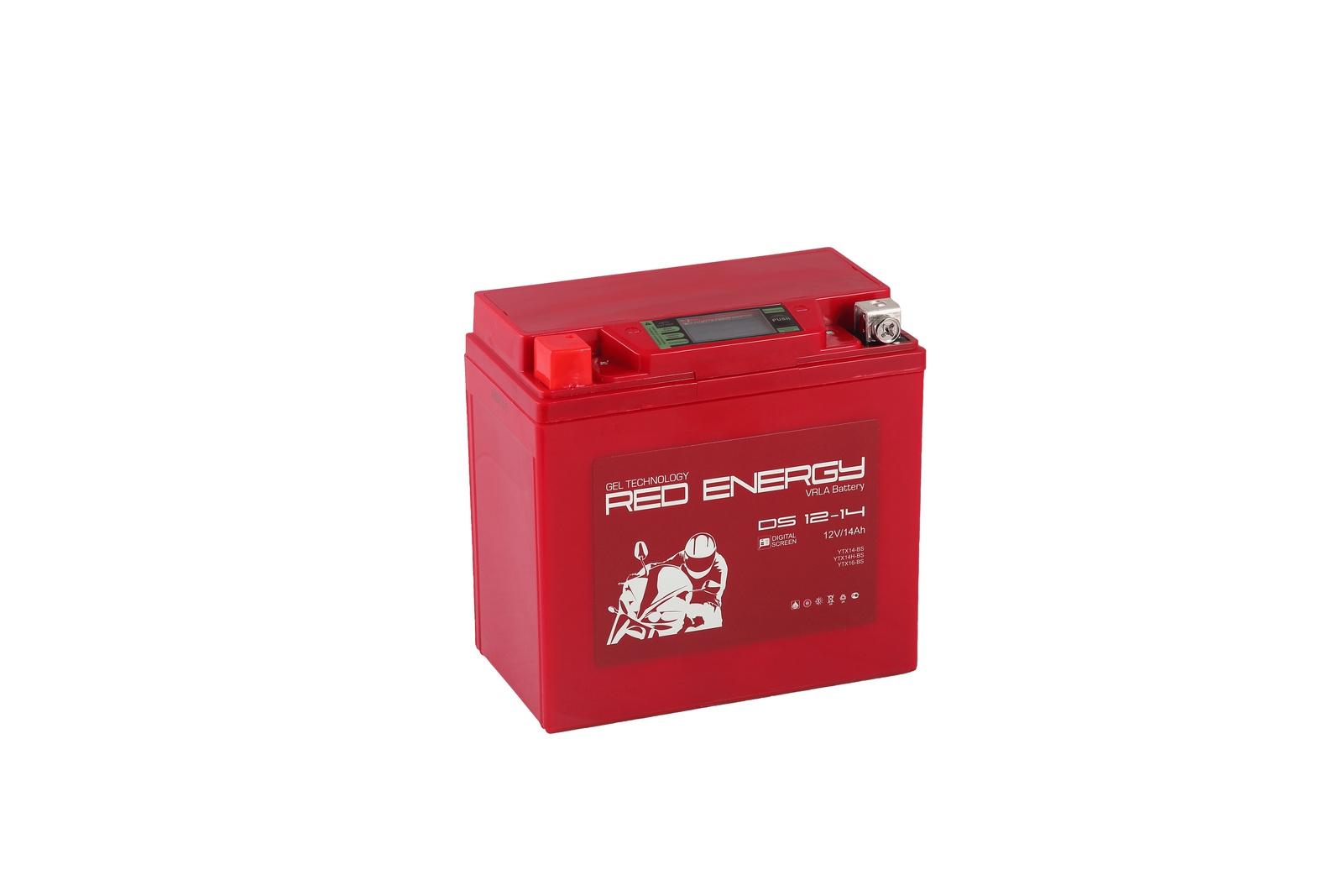 Аккумулятор для мототехники Red Energy DS 1214 все цены
