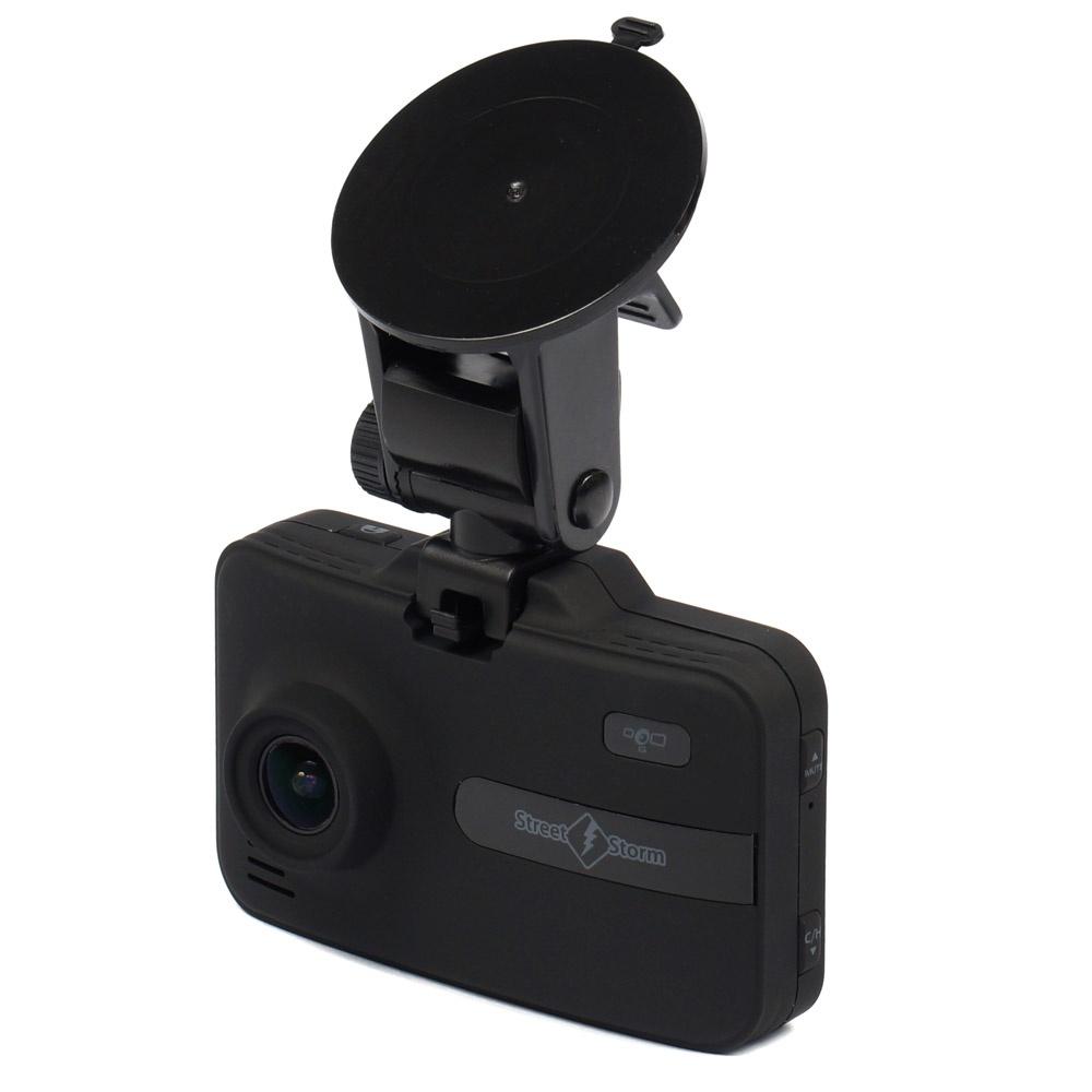 цена на Видеорегистратор с радар-детектором Street Storm STR-9930SE Signature, черный