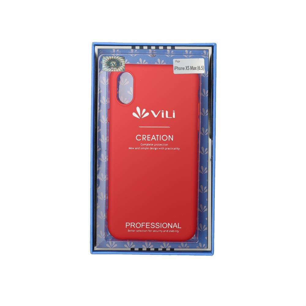 Чехол для сотового телефона Vili Клип-кейс iPhone XS Max, красный чехол клип кейс apple для apple iphone xr mrw62zm a прозрачный
