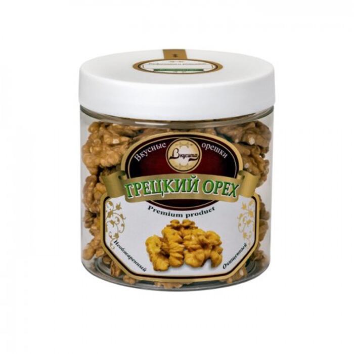 Орехи Вкусита Грецкий орех необжаренный очищенный, 176 для потенции грецкий орех мед