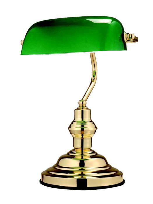 Настольный светильник Globo New 2491, золотой