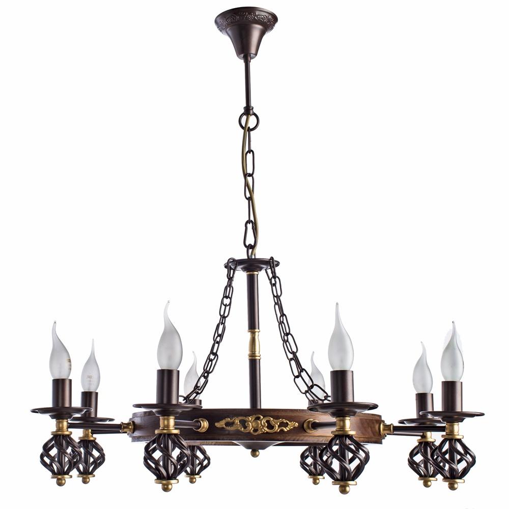 Подвесной светильник Arte Lamp A4550LM-8CK, E14, 60 Вт