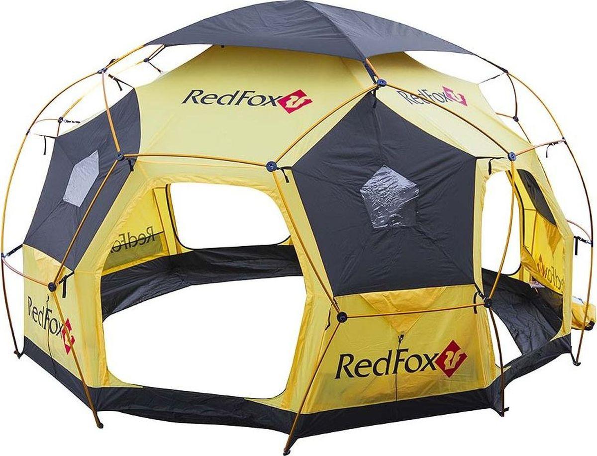 Палатка Red Fox Base Fox, 00000014411, желтый, 415 х 435 х 245 см