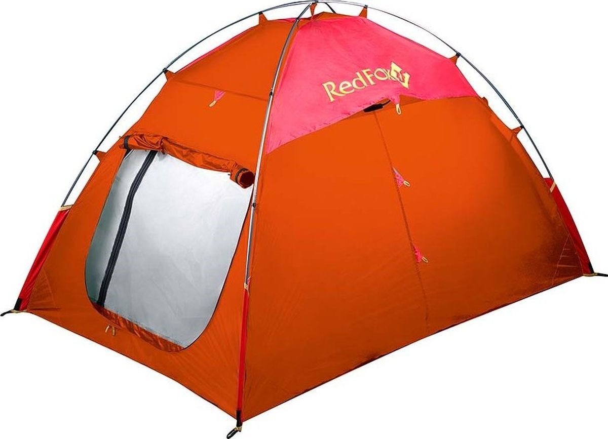 Палатка Red Fox Solo XC II, 00001069002, оранжевый, 200 х 135 х 120 см