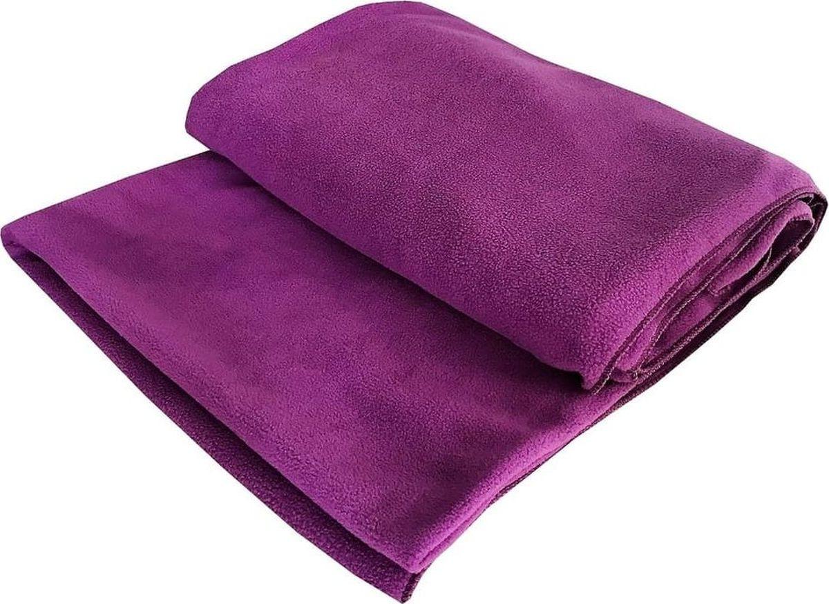 Плед RamaYoga Сурья для шавасаны, нидры и релаксации, фиолетовый, 200 х 130 см RamaYoga