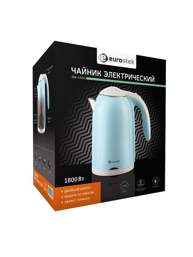Электрический чайник Eurostek EEK-1701S Eurostek