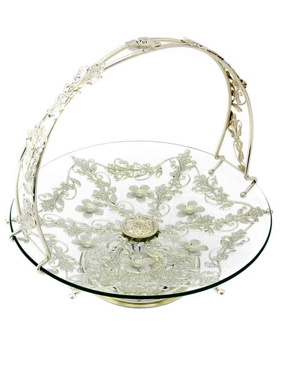 Фруктовница MARQUIS 5225-MR, серебристый ваза marquis 1033 mr