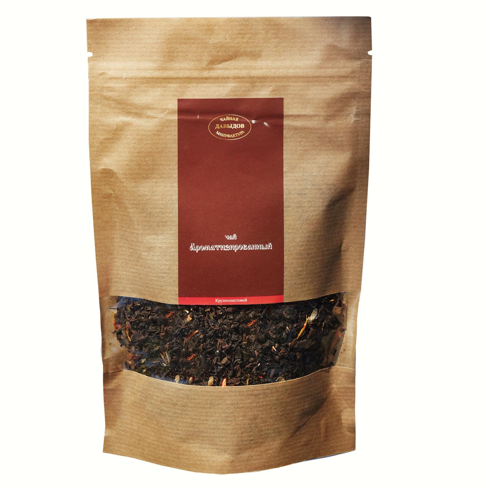 цены на Чай черный цейлонский байховый ароматизированный Земляника со сливками 100 г Дой пак  в интернет-магазинах