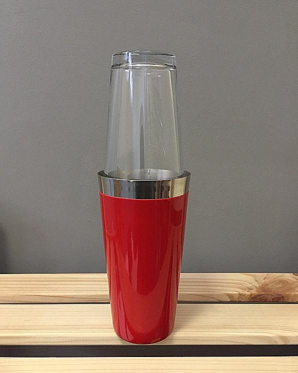 Шейкер Red Dream, красный, серебристый