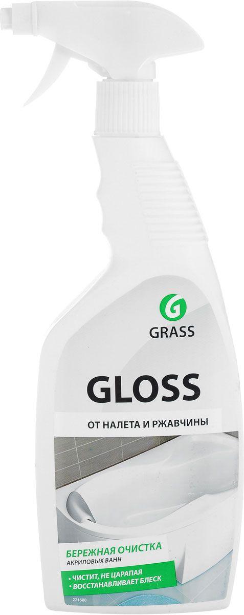 Средство для ванной и туалета Grass Gloss 600 мл средство для чистки и дезинфекции deso 5 кг grass 125191