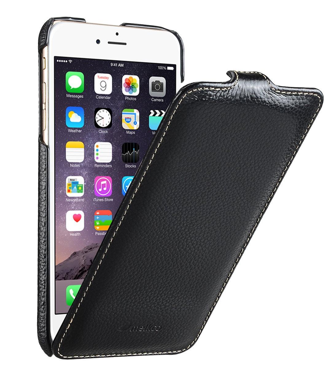 """Чехол для сотового телефона Melkco Кожаный чехол флип для Apple iPhone 6/6S (4.7"""") - Jacka Type, черный"""