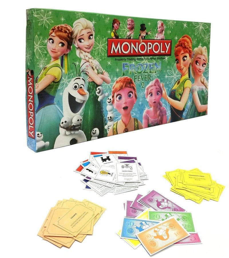 Настольная игра Холодное сердце набор карточек чиполлино из бергамо игра в литературных героев