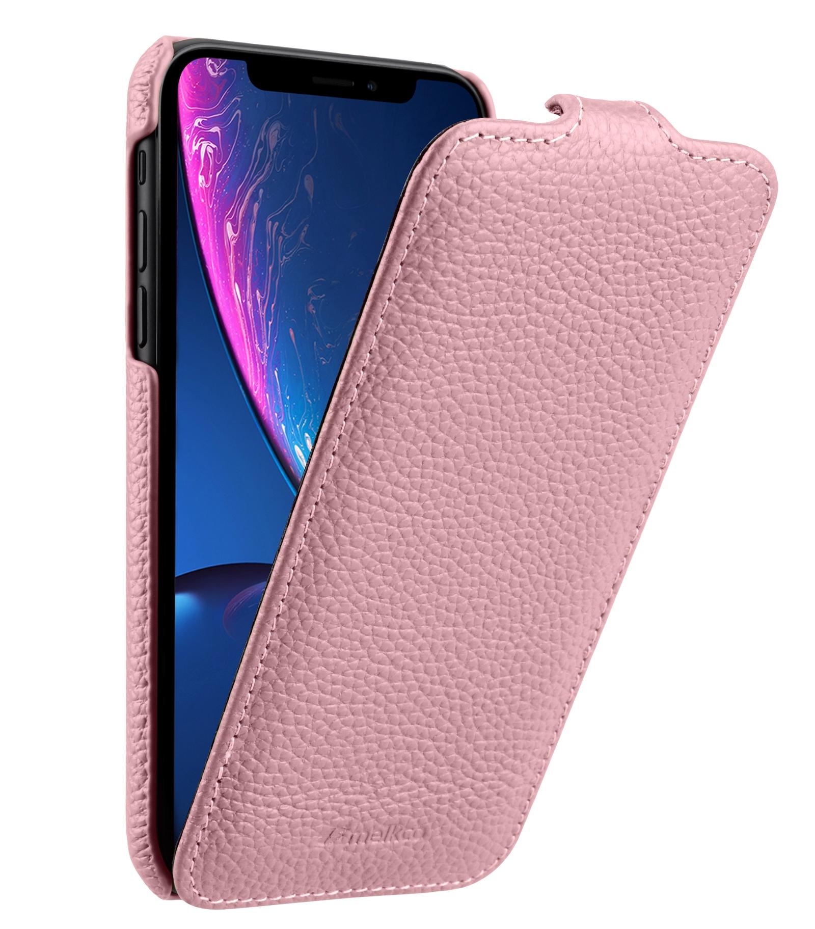 Чехол для сотового телефона Melkco Кожаный чехол флип для Apple iPhone XR - Jacka Type, розовый чехол для сотового телефона melkco кожаный чехол флип для apple iphone x xs jacka type сиреневый