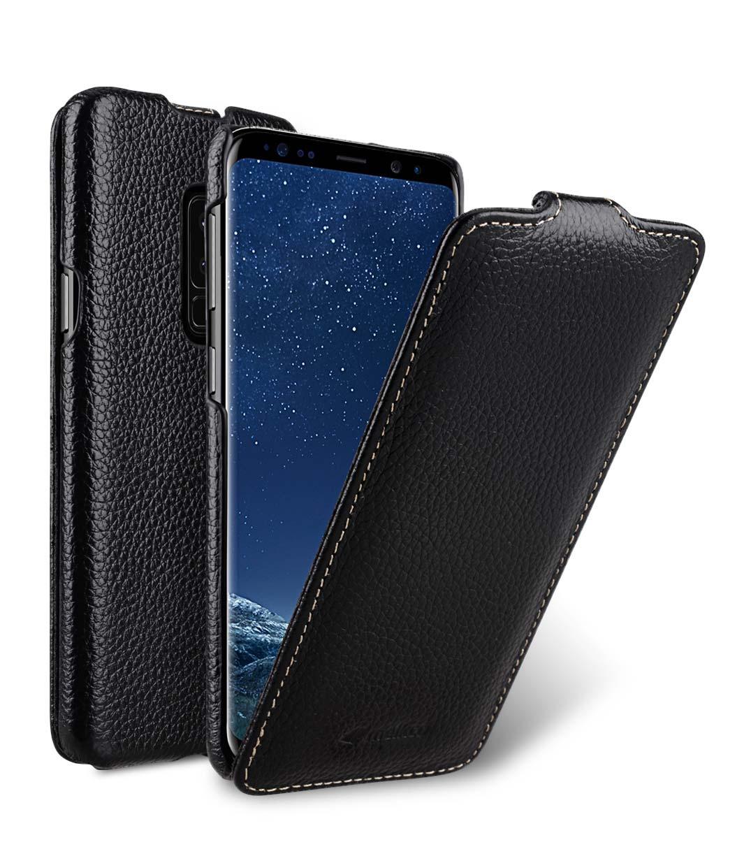 Чехол для сотового телефона Melkco Кожаный чехол флип для Samsung Galaxy S9+ - Jacka Type, черный