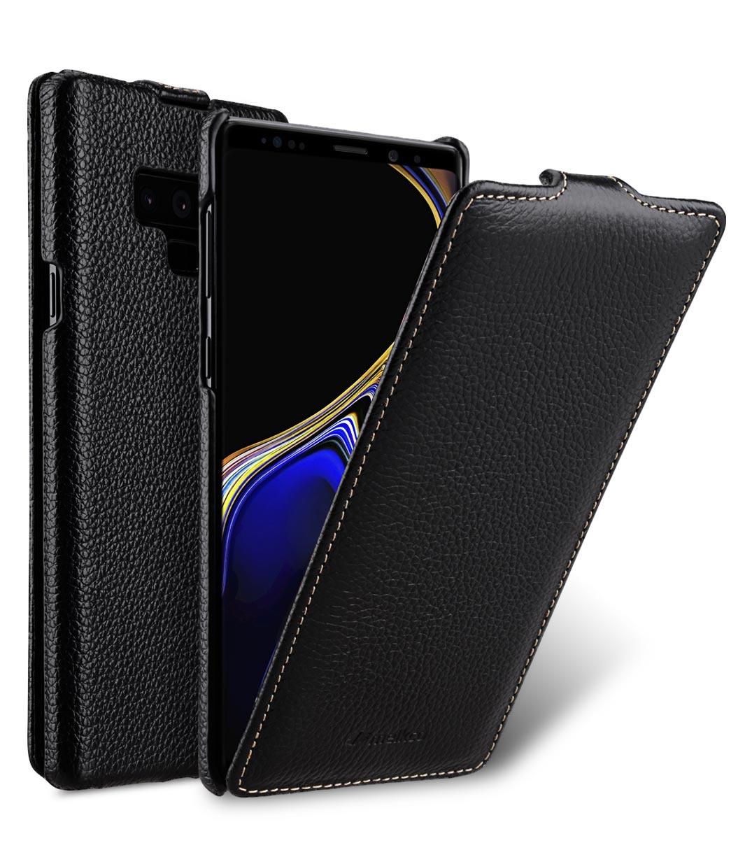 Чехол для сотового телефона Melkco Кожаный чехол флип для Samsung Galaxy Note 9 - Jacka Type, черный