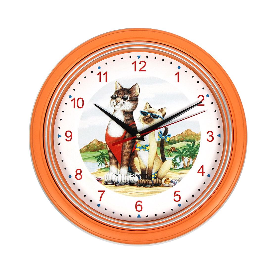 Настенные часы ХИТ - декор 06792 комплект настенных часов хит декор для ванной комнаты 2 шт