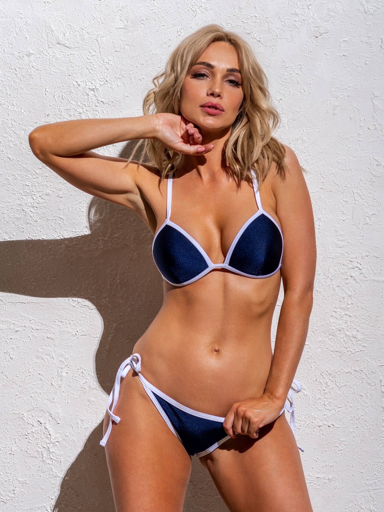 Купальник раздельный Katerina Riazanova sexy swimsuit bikini sexy female network мозаика кирпич каменный zip сиамский бикини комплект кулак купальник купальник купальник