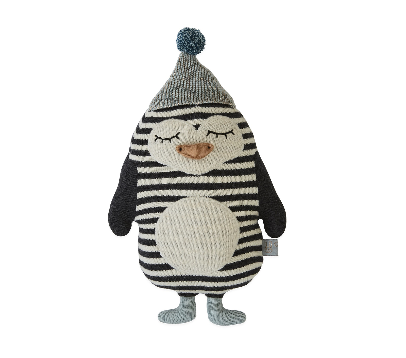 Подушка декоративная OYOY 26x18 Bob Penguin